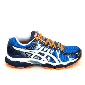 Asics Running Bleu Orange