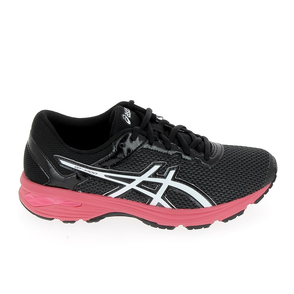 wholesale dealer 5e70f 930e8 ASICS GT 1000 6 GS Jr Noir Rose
