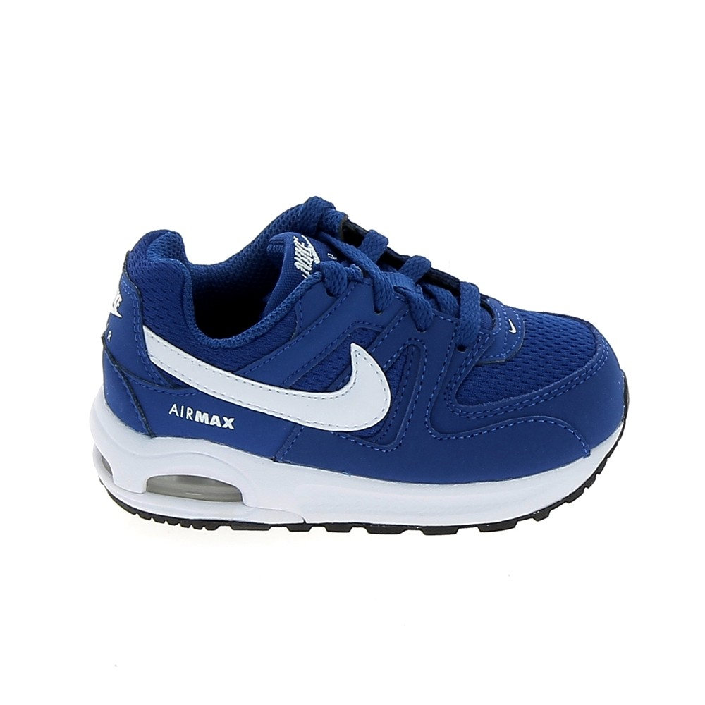NIKE Air Max Command Flex BB Bleu Blanc