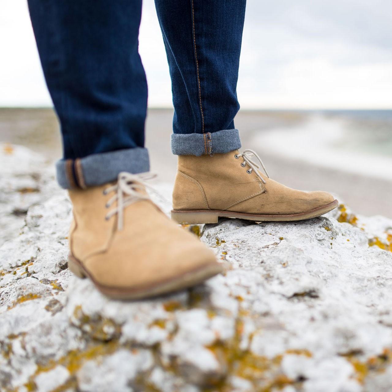 Chaussures après ski et bottes cuir pour Homme