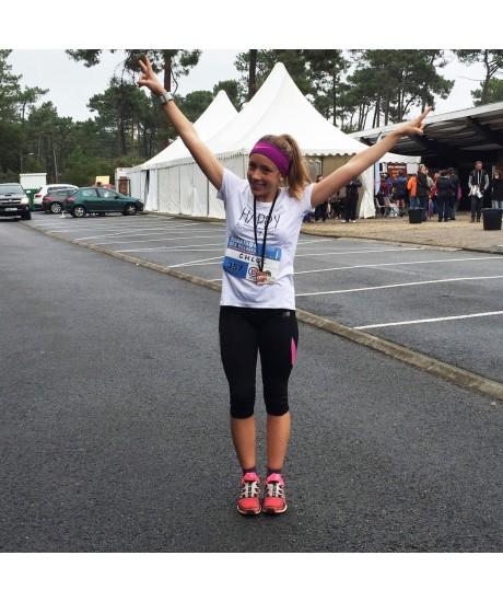 Chloé présente ses tenues de running