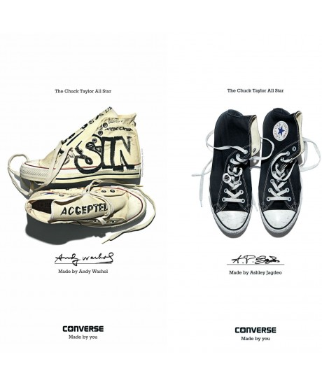 « Made by You » – campagne Converse 2015